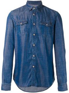 джинсовая рубашка с нагрудными карманами Hydrogen