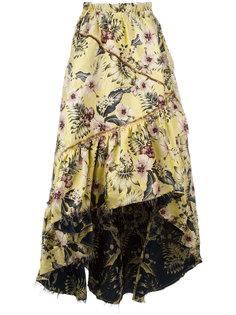 длинная юбка с цветочным рисунком Philosophy Di Lorenzo Serafini
