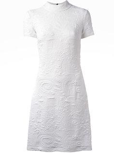 платье с вышивкой Versace Jeans