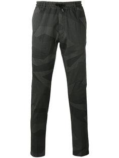 брюки с камуфляжным рисунком Hydrogen