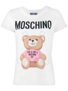 футболка Teddy Logo Moschino