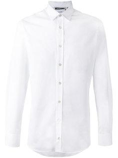 рубашка с принтом тигра на спине Moschino
