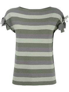 полосатая футболка Emporio Armani