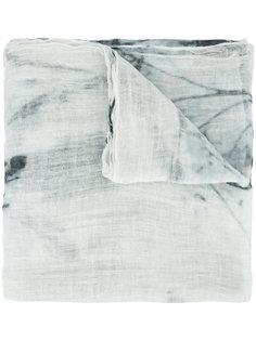 шарф с мраморным принтом Brunello Cucinelli