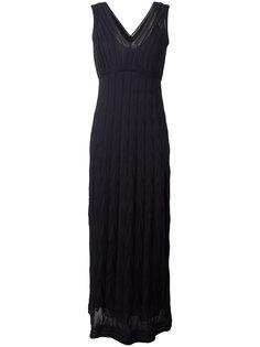 длинное трикотажное платье M Missoni