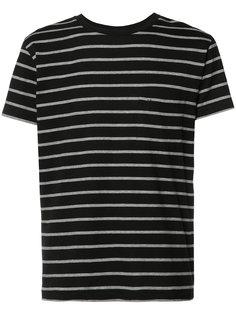 футболка в полоску Saint Laurent