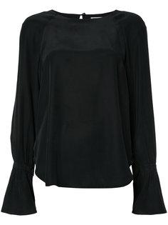 блузка с расклешенными рукавами Frame Denim