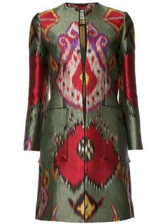 пальто с принтом Etro