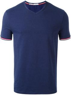 классическая футболка с V-образным вырезом Moncler