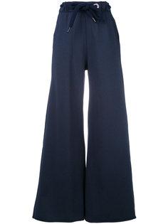 широкие брюки с поясом со шнуровкой Diesel