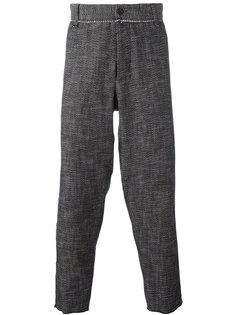 укороченные брюки Maison Flaneur