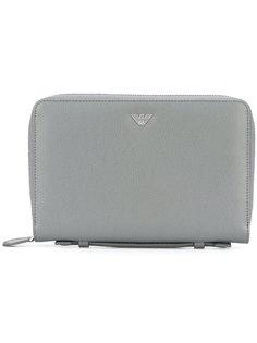 кошелек с принтом-логотипом Emporio Armani