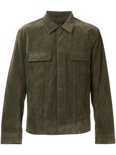 замшевая куртка Vince