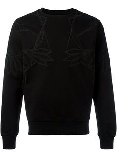 geometric chest print sweatshirt Les Hommes