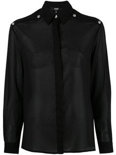 рубашка с вырезами на плечах Versus
