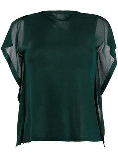 многослойная футболка Mm6 Maison Margiela