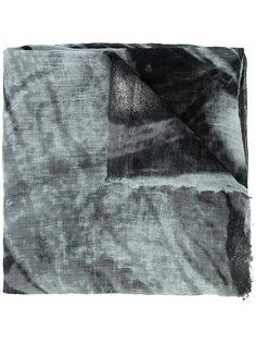 шарф с эффектом тай-дай Brunello Cucinelli