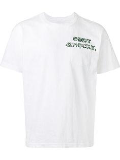 футболка с накладным карманом Sacai