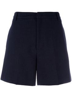 шорты с прорезными карманами Maison Kitsuné