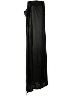 вечернее платье свободного кроя Ann Demeulemeester