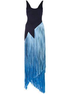 платье с бахромой Carmen Galvan
