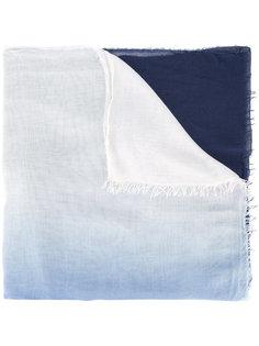 шарф с контрастными панелями Faliero Sarti