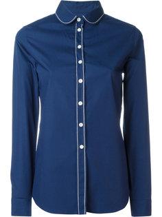 рубашка с закругленным воротником Maison Kitsuné
