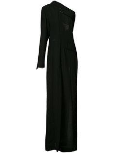платье на одно плечо Ann Demeulemeester