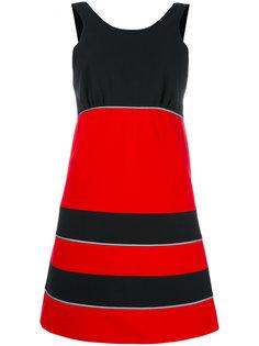 мини-платье дизайна колор-блок Maison Kitsuné