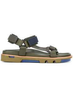 сандалии в стиле милитари Emporio Armani