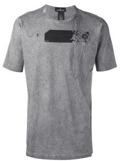 футболка с графическим принтом  Stone Island Shadow Project