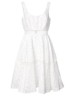 расклешенное платье Janet Zac Zac Posen