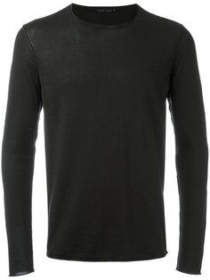 свитер с открытой строчкой Transit