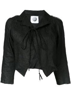 укороченный пиджак Aganovich