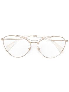 очки-авиаторы Miu Miu Eyewear