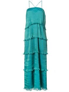 плисированное вечернее платье Bay Zac Zac Posen