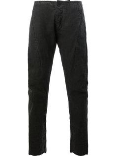 узкие брюки без пояса Masnada