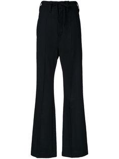 расклешенные брюки Ann Demeulemeester