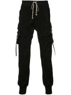спортивные брюки-карго Rick Owens
