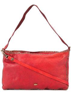 сумка на плечо с заклепками Campomaggi