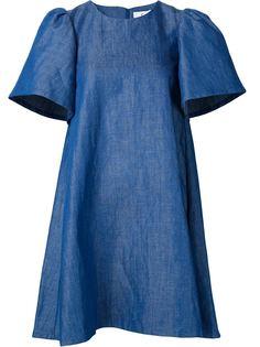 джинсовое платье с широкими рукавами Co