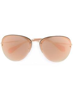 солнцезащитные очки-авиаторы Miu Miu Eyewear