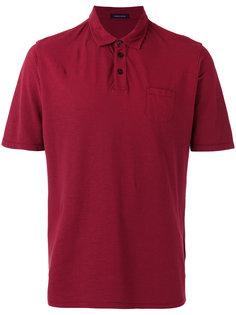 футболка-поло с нагрудным карманом Roberto Collina