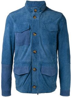 куртка лоскутного кроя с накладными карманами Eleventy