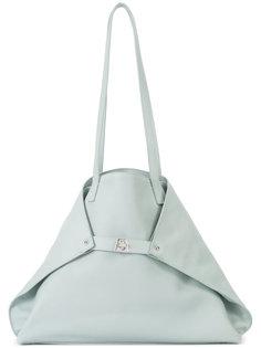 сумка-тоут с загнутыми краями Akris