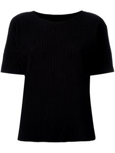 футболка в рубчик Issey Miyake Cauliflower
