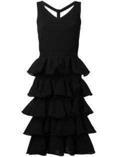 приталенное платье с многоярусной юбкой D.Exterior