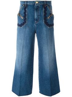 укороченные широкие джинсы Sonia Rykiel