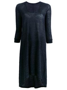 прозрачное платье-свитер Transit