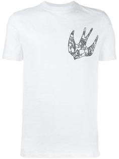 жаккардовая футболка McQ Alexander McQueen